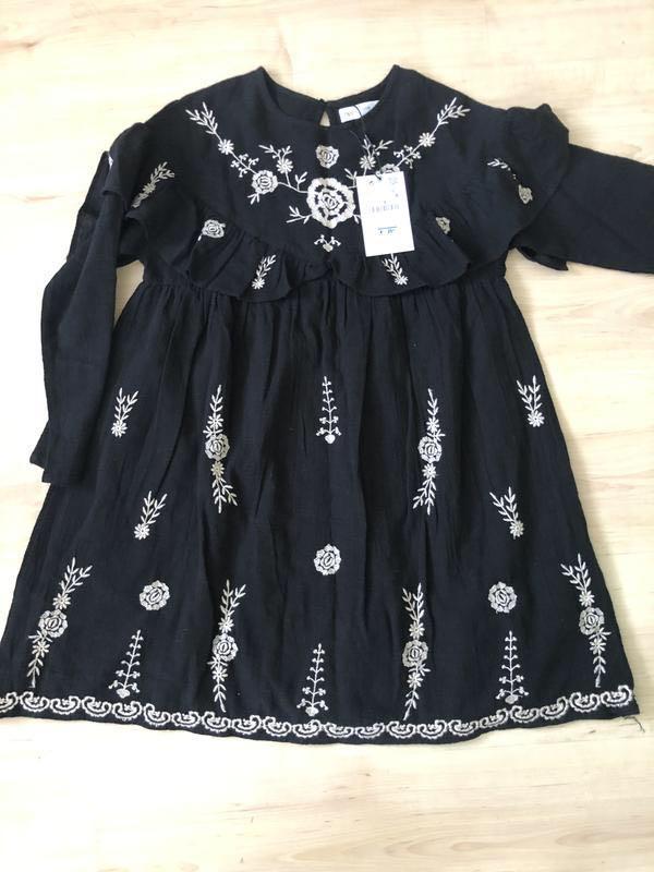 Платье на девочку zara 152 см - Фото 5