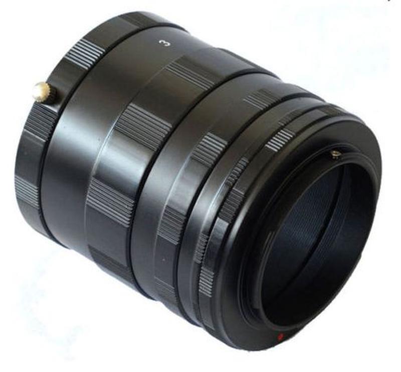 Макрокольца мануальные Nikon AI и Canon EOS (металлические) - Фото 2