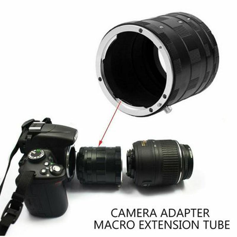 Макрокольца мануальные Nikon AI и Canon EOS (металлические) - Фото 6