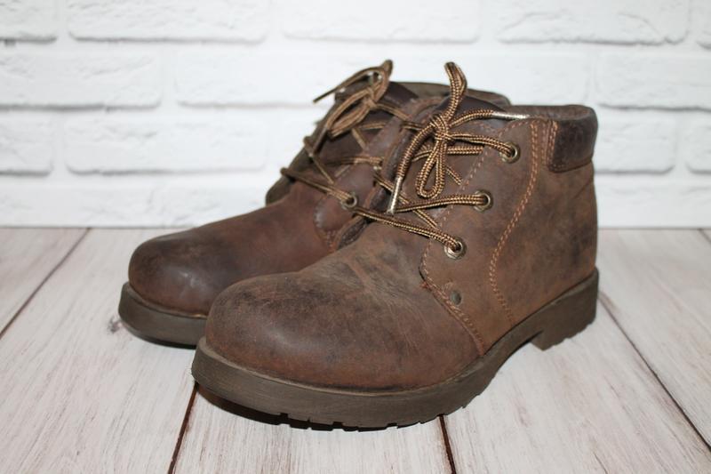 Кожаные ботинки blue box 41 размер 100% натуральная кожа