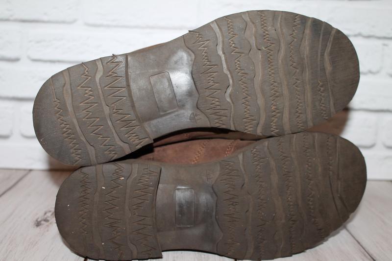 Кожаные ботинки blue box 41 размер 100% натуральная кожа - Фото 6