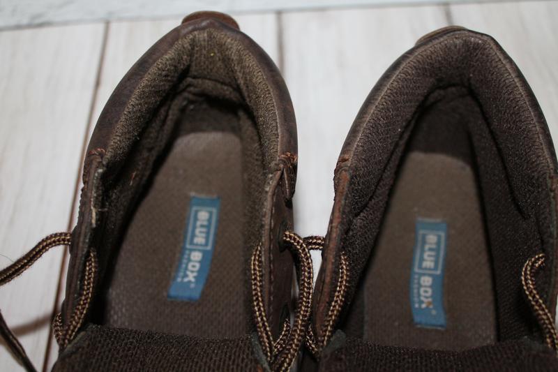 Кожаные ботинки blue box 41 размер 100% натуральная кожа - Фото 7