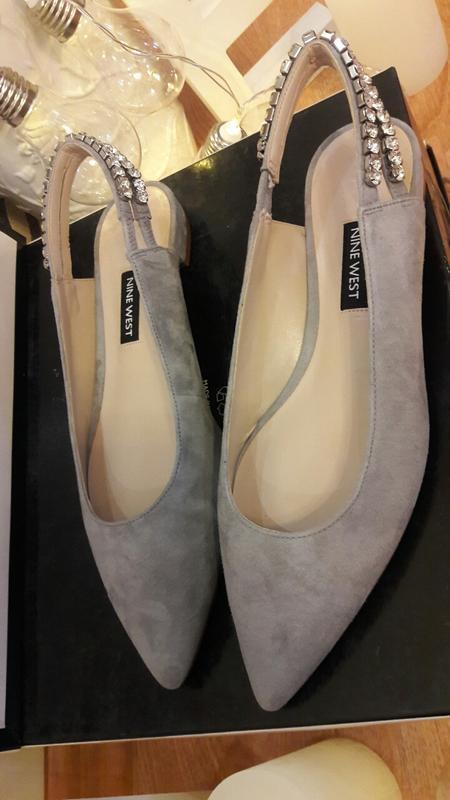 Туфли замшевые nine west - Фото 9