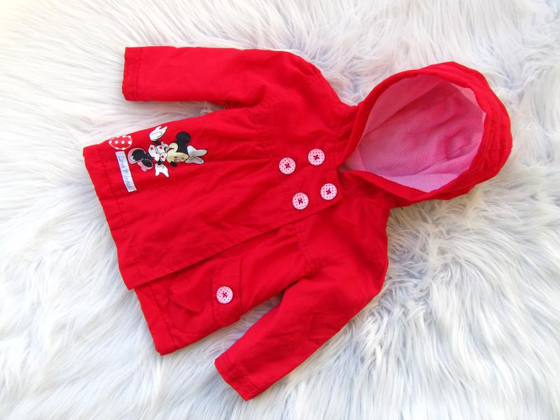 Стильная куртка с капюшоном george disney minnie mouse