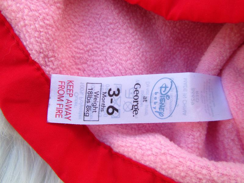 Стильная куртка с капюшоном george disney minnie mouse - Фото 3