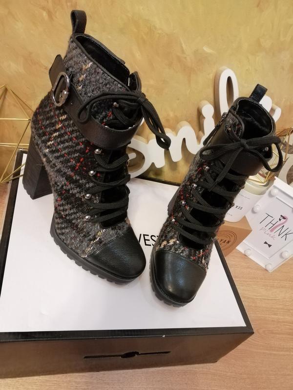 Ботинки nine west - Фото 5