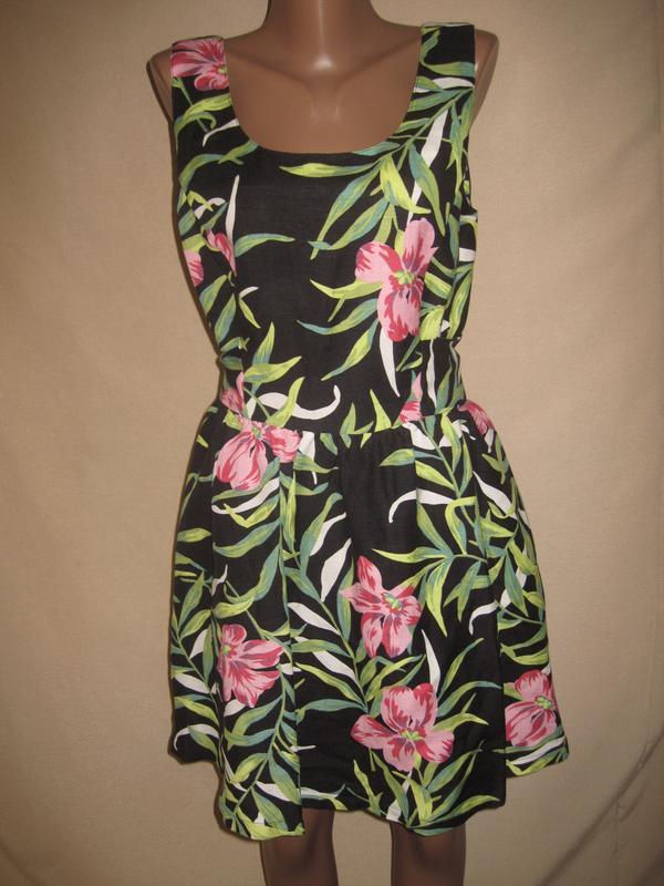 Льняное платье louche р-р14