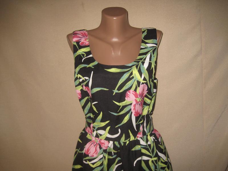 Льняное платье louche р-р14 - Фото 2