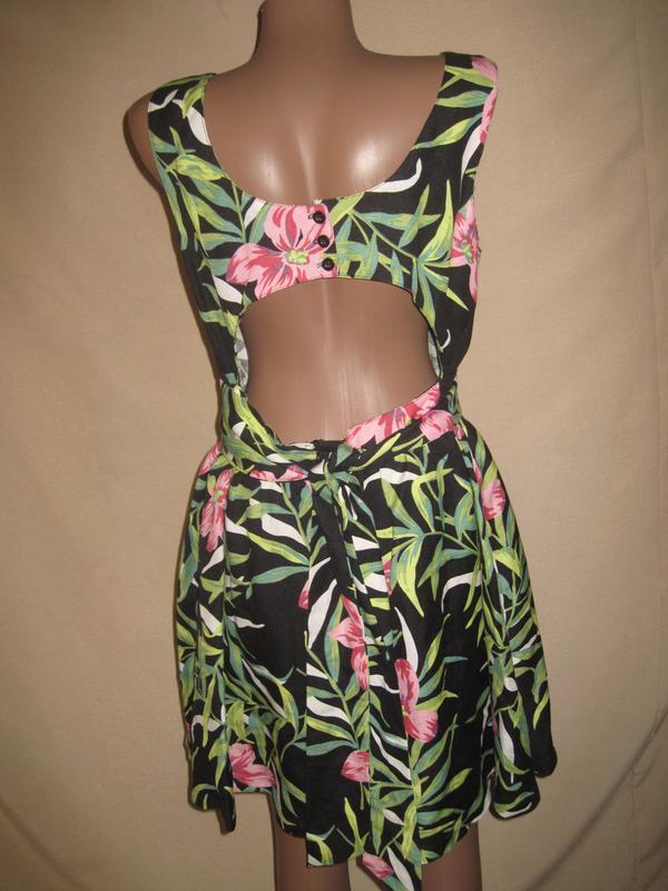 Льняное платье louche р-р14 - Фото 3