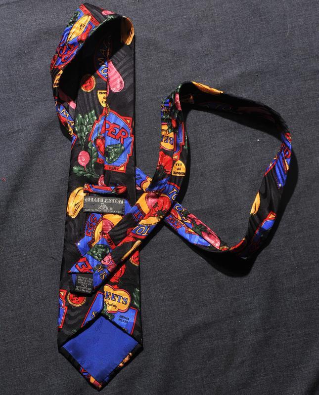 Супер овощной галстук для веганов! - Фото 2
