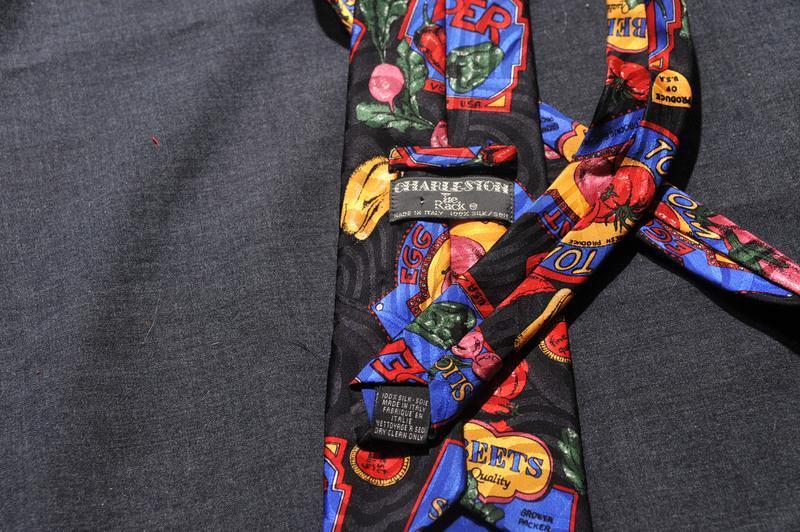 Супер овощной галстук для веганов! - Фото 3