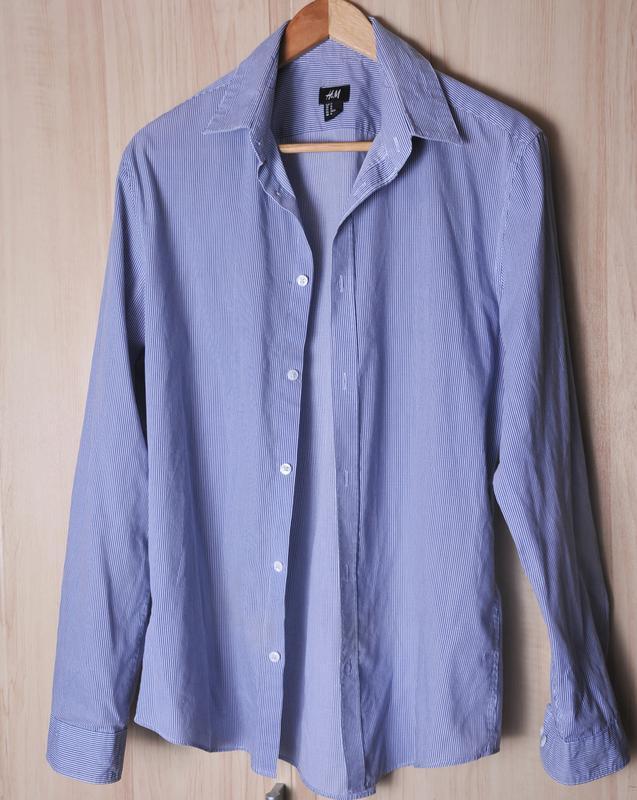 Стильная рубашка h&m - Фото 2
