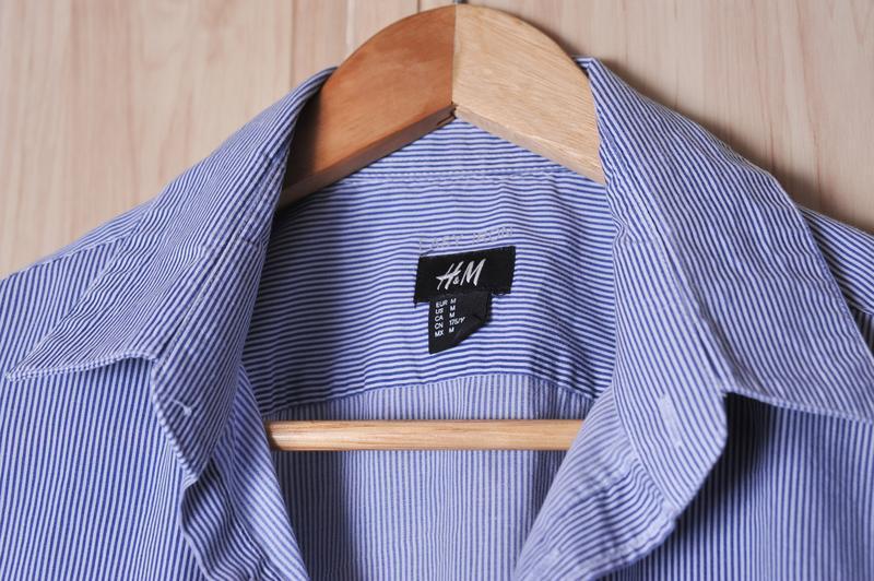 Стильная рубашка h&m - Фото 4