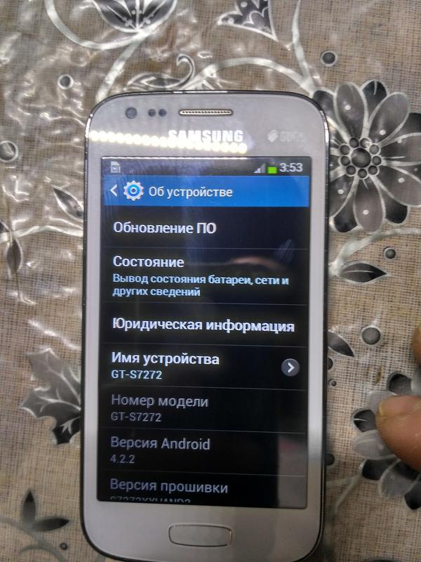 Смартфон Samsung S7272 Galaxy Ace 3 - Фото 2