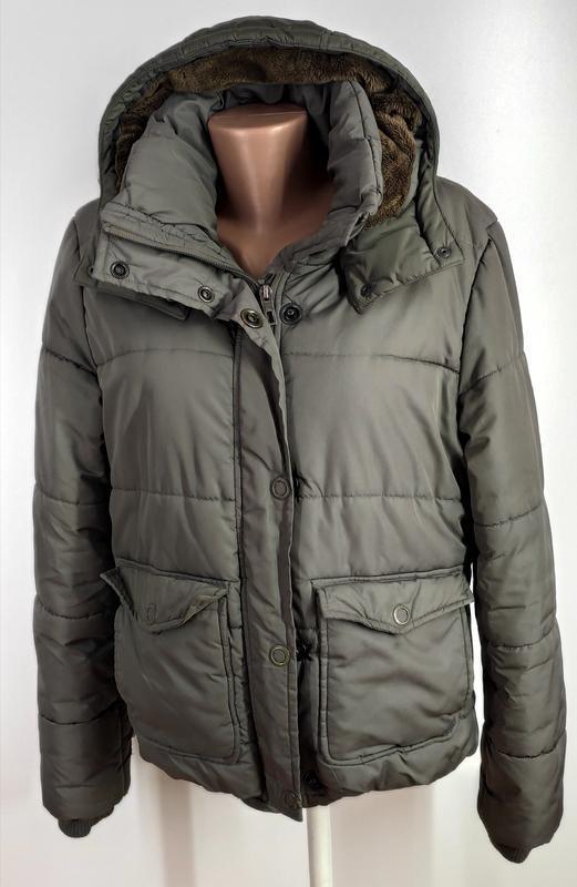 Зимняя куртка на синтепоне размер 44 (наш 48) - Фото 3