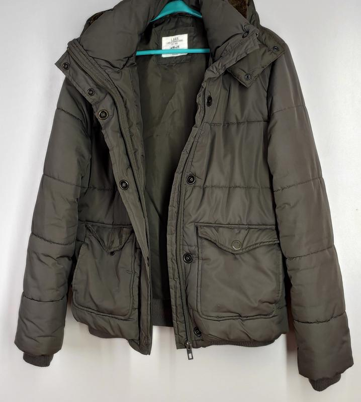 Зимняя куртка на синтепоне размер 44 (наш 48) - Фото 6