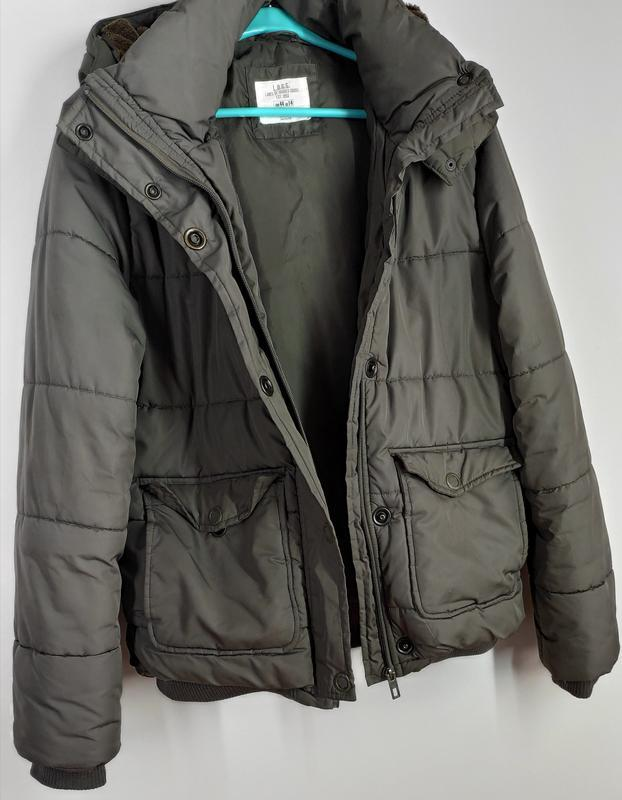 Зимняя куртка на синтепоне размер 44 (наш 48) - Фото 7