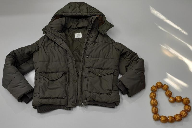 Зимняя куртка на синтепоне размер 44 (наш 48) - Фото 8