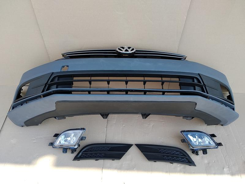 Новый бампер передний Volkswagen Jetta USA 2015 - 2017 год идеал - Фото 3