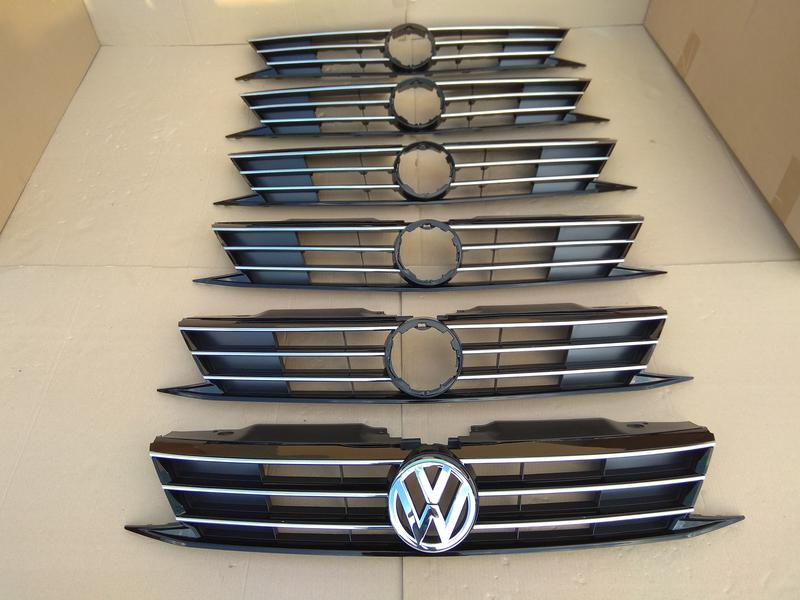 Новый бампер передний Volkswagen Jetta USA 2015 - 2017 год идеал - Фото 17