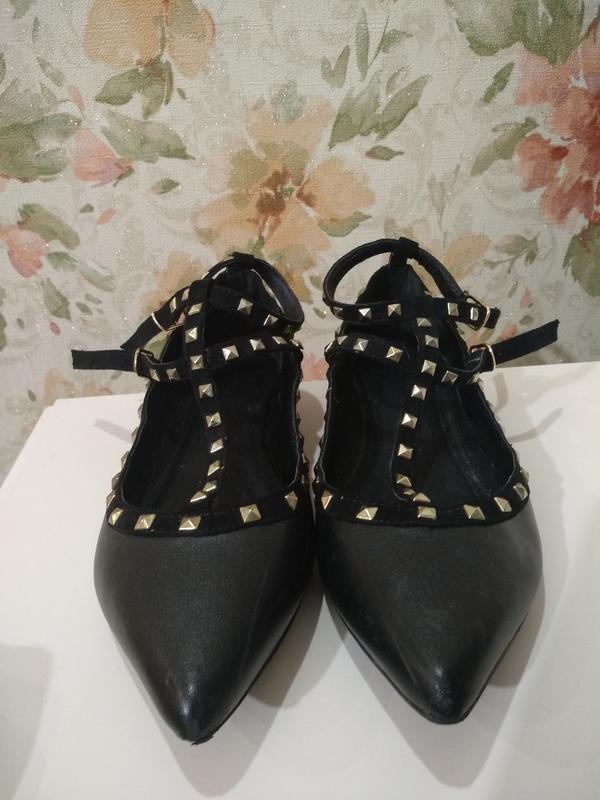 Кожаные туфли motivi - Фото 2
