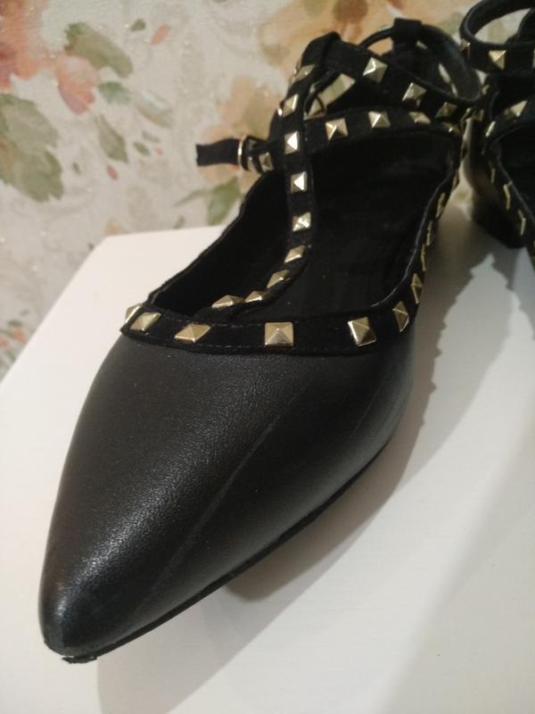 Кожаные туфли motivi - Фото 6