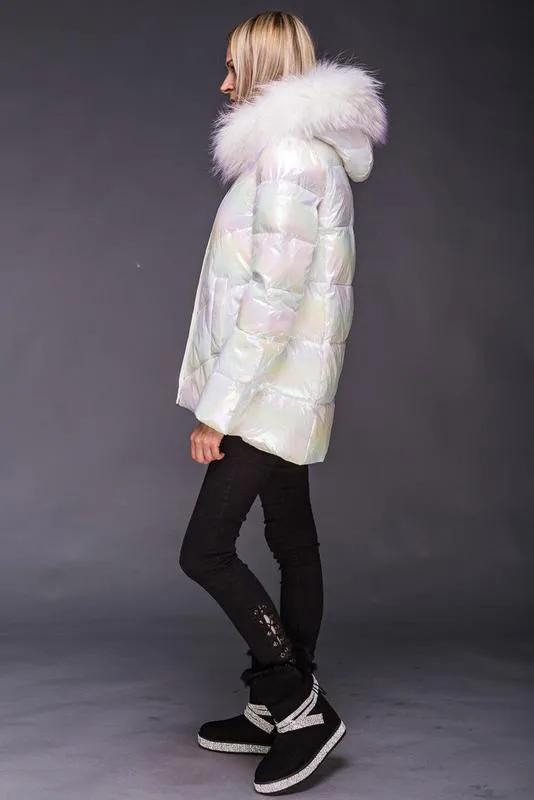 Женский пуховик куртка zlly (zilanliya) - Фото 2