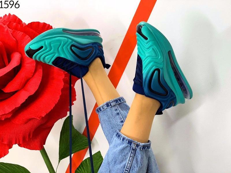 """Код: 1596 кроссовки """" demi-blue """", размер 36-41 - Фото 2"""