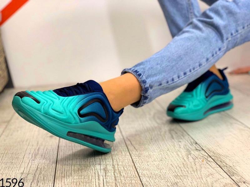 """Код: 1596 кроссовки """" demi-blue """", размер 36-41 - Фото 4"""