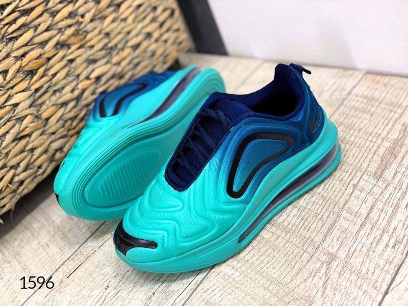 """Код: 1596 кроссовки """" demi-blue """", размер 36-41 - Фото 6"""