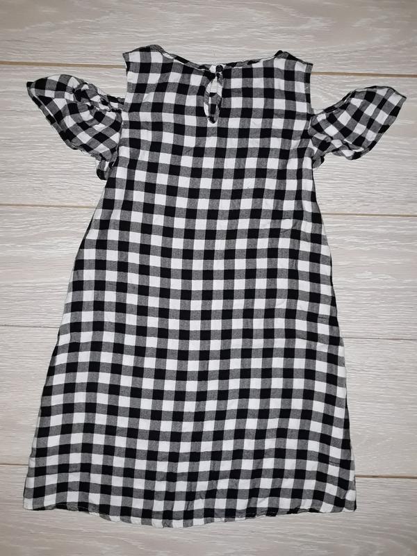 Лёгенькое летнее платье matalan на 8-9 лет - Фото 4