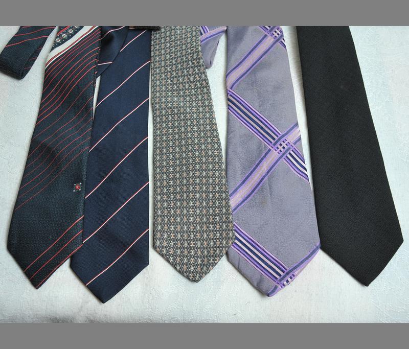 Комплект из 5  галстуков.!!!расродпжа дешево!!! - Фото 2