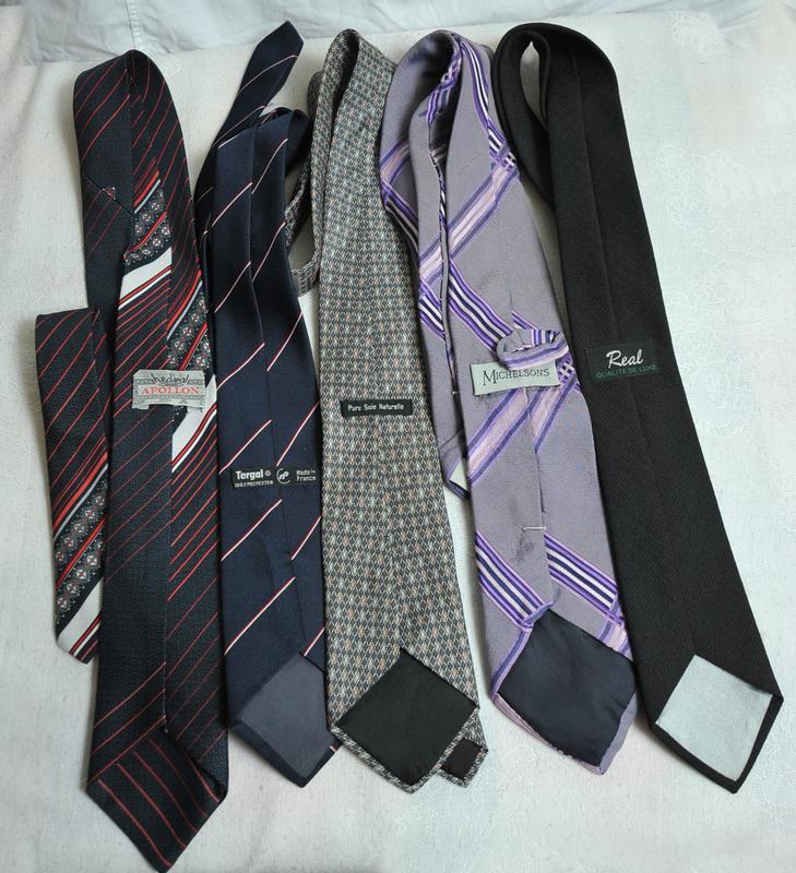 Комплект из 5  галстуков.!!!расродпжа дешево!!! - Фото 3
