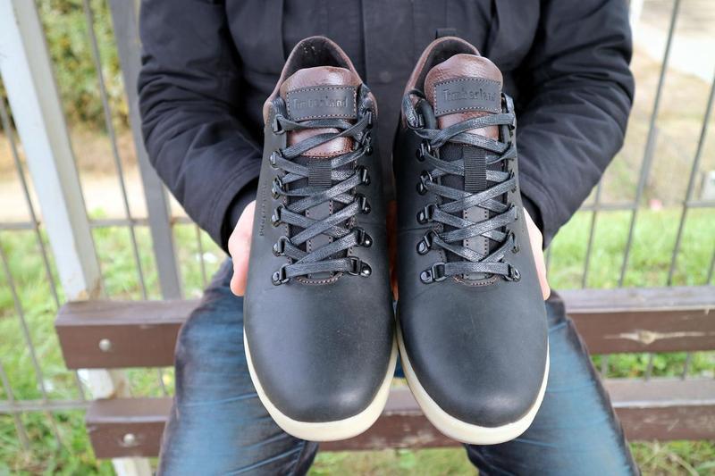 Мужские ботинки кожаные зимние черные-матовые yuves 773 - Фото 7