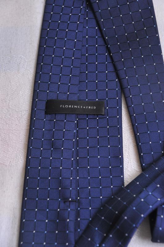 """Стильный  фактурный   галстук  """"florence&fred"""" - Фото 4"""