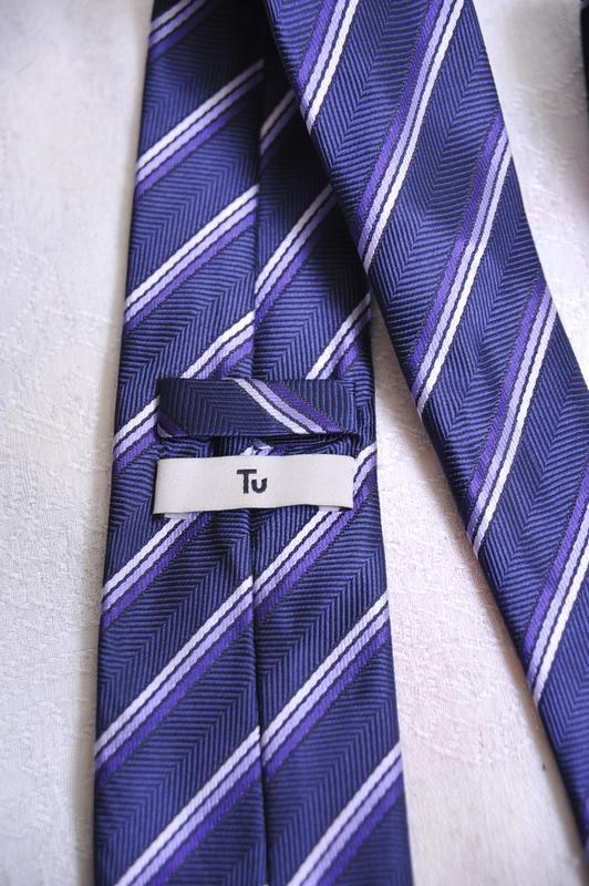 """Фактурный галстук  """"tu"""" - Фото 4"""