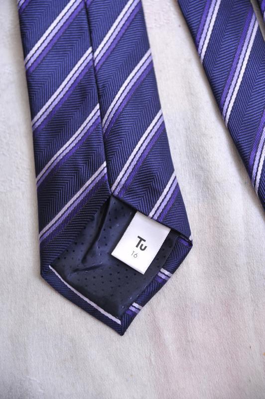 """Фактурный галстук  """"tu"""" - Фото 5"""