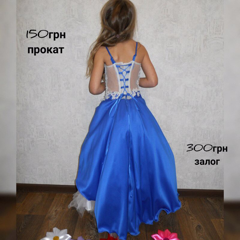 Нарядное пышное платье на выпускной утренник дни рождения - Фото 2