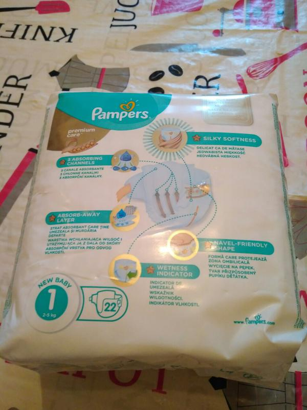 Продам Памперсы Подгузники Pampers Premium Care 1(уп. 22шт.) на 2 - Фото 2