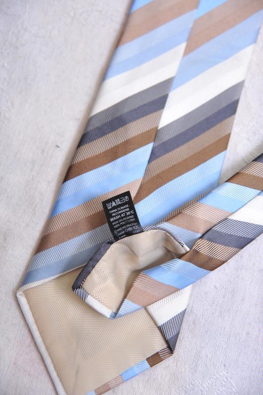 """Стильный фактурный  галстук """"marks & spencer"""" - Фото 5"""