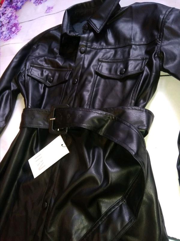 Удлинённая рубашка в стиле Zara - Фото 3