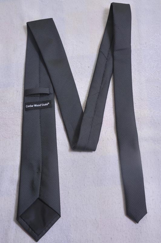 Нейтральный галстук cedarwood state - Фото 3