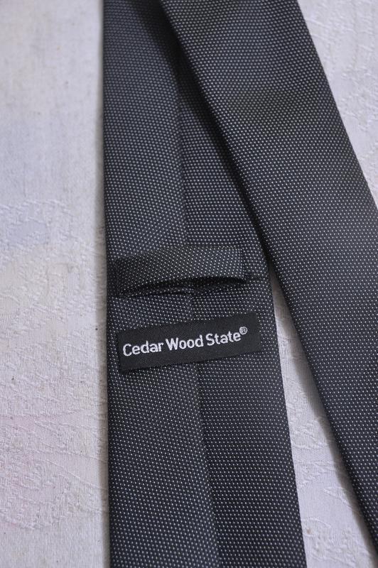Нейтральный галстук cedarwood state - Фото 4