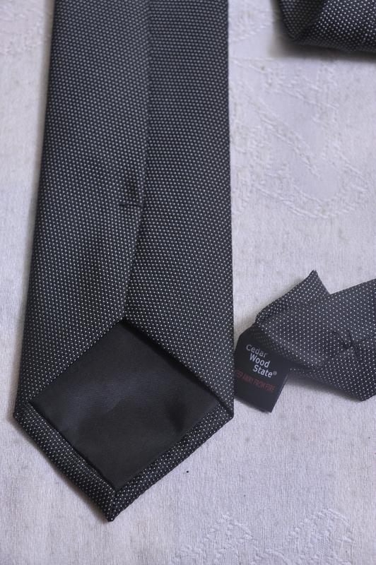 Нейтральный галстук cedarwood state - Фото 5