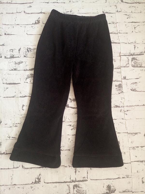 Мягкие велюровые штаны для дома.3-4 года