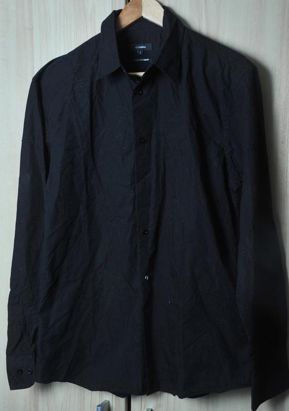Вышитая рубашка peter werth - Фото 2