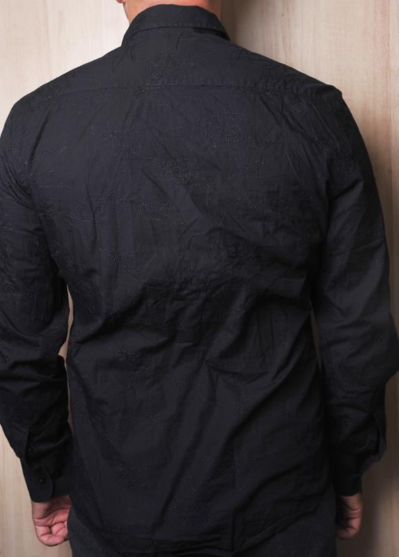 Вышитая рубашка peter werth - Фото 3