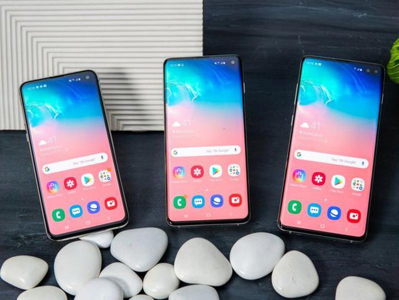 Samsung Galaxy S10 разные цвета и объемы памяти - Фото 2