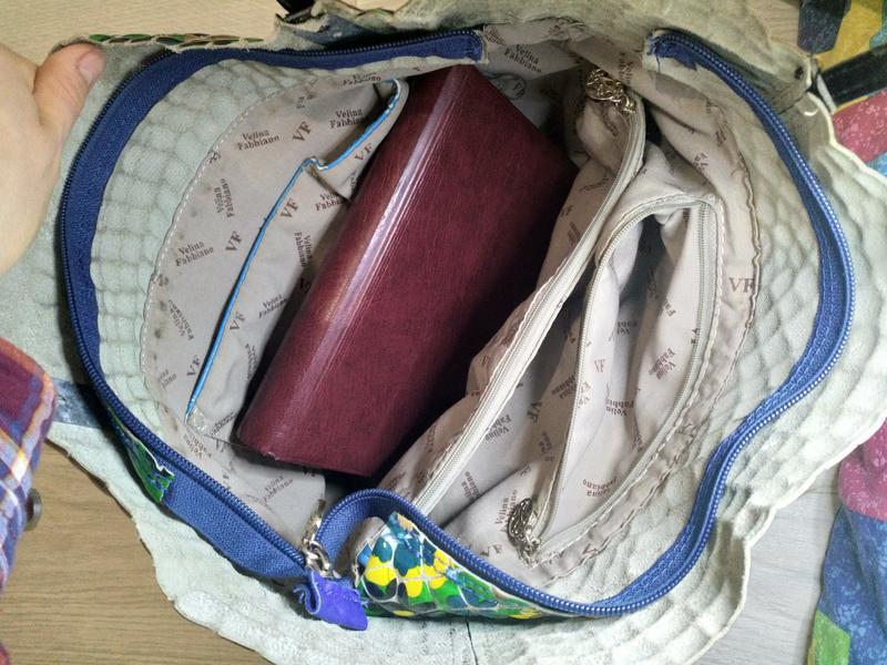Кожаная сумка премиального качества бутылочный зеленый цветной - Фото 5