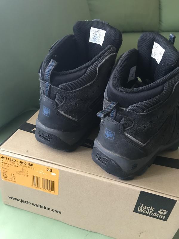 Зимние ботинки jack wolfskin 36 размер - Фото 4